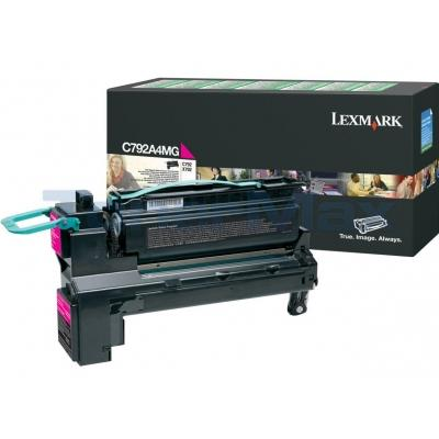 LEXMARK C792/X792 PRINT CART MAGENTA RP TAA